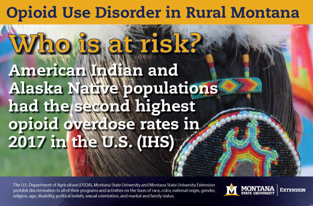American Indian and Alaska Natives had the second highest opioid overdose death rates in 2017
