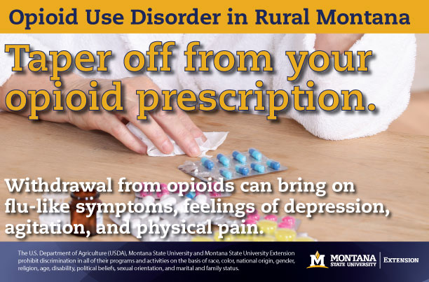 why tapering off from opioid medications is important